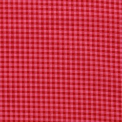 Tissu Frou-frou vichy Rouge
