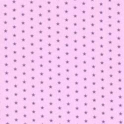 Tissu Frou-frou Etoile Lavande