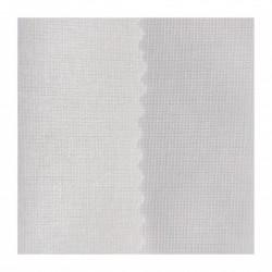 Toile thermocollante blanche pour tissu coton